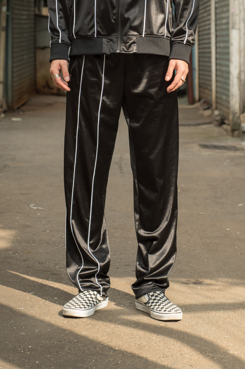 17FW TRANING PANTS Black[order made]