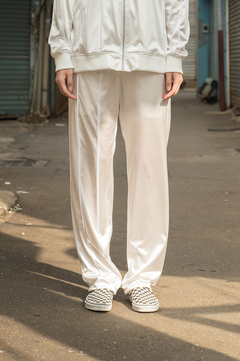 17FW TRANING PANTS White[order made]