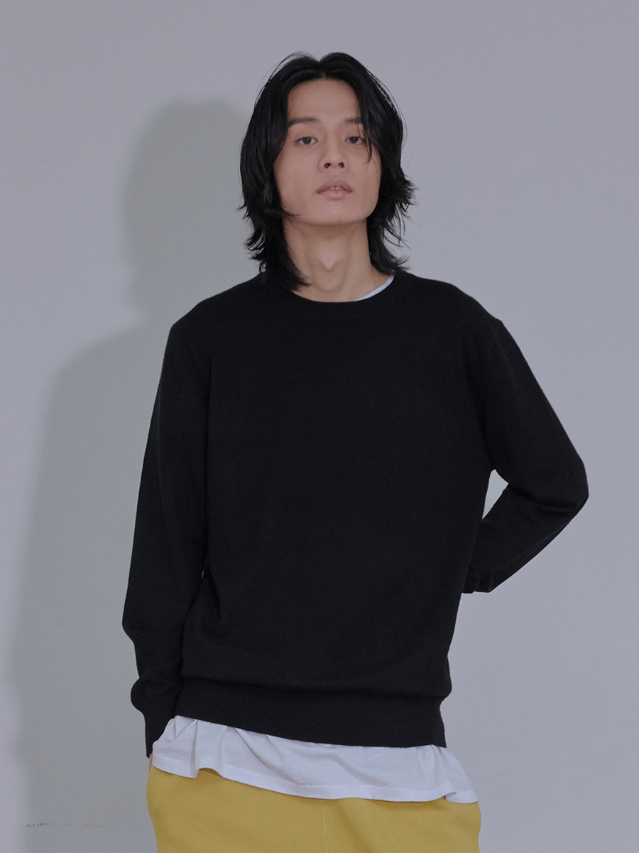 UNISEX ORIGINAL KNIT - BLACK