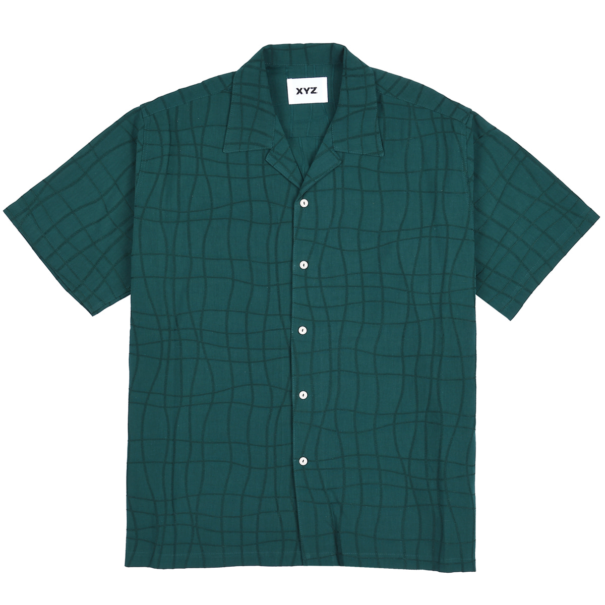 UNISEX TIE LINE SHIRTS - DEEP GREEN
